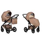 Детская коляска 2 в 1 Tutis Zippy 2020 цвет 158 Brown коричневый
