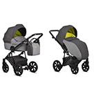 Детская коляска 2 в 1 Tutis Zippy 2020 цвет 164 Lime лайм