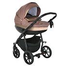 Детская коляска 2 в 1 Tutis Nanni 2021 цвет 277 мокко и кожа мокко металлик
