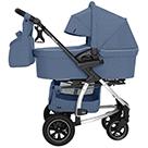 Детская коляска 2 в 1 Carrello Vista Air CRL-6506 цвет Denim Blue джинсовый синий