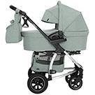 Детская коляска 2 в 1 Carrello Vista Air CRL-6506 цвет Olive Green оливковый зеленый