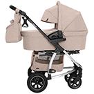 Детская коляска 2 в 1 Carrello Vista Air CRL-6506 цвет Stone Beige бежевый камень