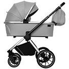 Детская коляска Carrello Optima 2 в 1 CRL-6503 цвет Mirror Grey зеркально-серый