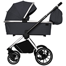 Детская коляска Carrello Optima 2 в 1 CRL-6503 цвет Platinum Grey платиново-серый