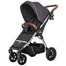 Прогулочная коляска Carrello Supra CRL-5510 цвет Solid Grey сплошной серый
