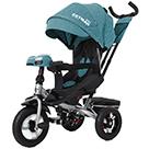 Детский трехколесный велосипед Carrello Tilly Cayman T-381/7 с усиленной рамой и пультом цвет бирюзовый