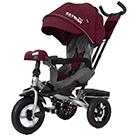Детский трехколесный велосипед Carrello Tilly Cayman T-381/7 с усиленной рамой и пультом цвет красный