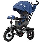 Детский трехколесный велосипед Carrello Tilly Cayman T-381/7 с усиленной рамой и пультом цвет синий