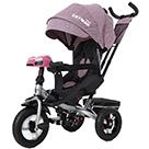 Детский трехколесный велосипед Carrello Tilly Cayman T-381/7 с усиленной рамой и пультом цвет фиолетовый