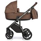 Детская коляска Roan Bass Next 2 в 1 цвет Mocca мокка, темно-коричневая ручка