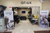 Магазин-салон ANEX от официального дилера  Анекс в Санкт-Петербурге