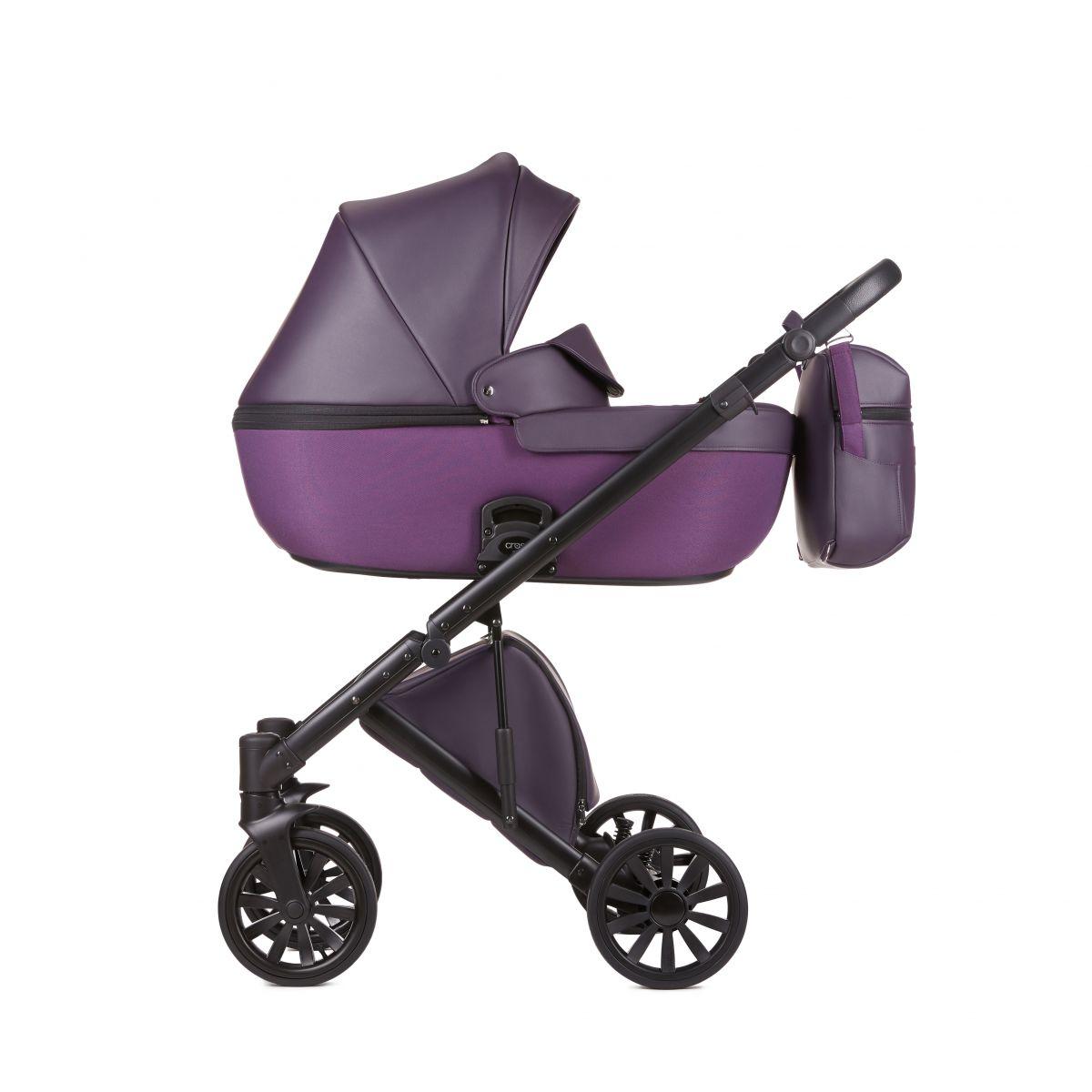 Детская фиолетовая коляска (темно сливовый цвет) Anex Cross Dark ... 950e0d8997ea5